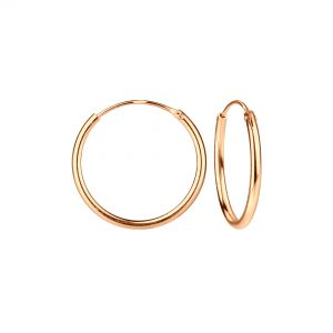 Wholesale 16mm Silver Hoop Earrings