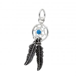 Wholesale Silver Dream Catcher Pendant