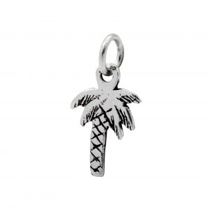 Wholesale Silver Palm Tree Pendant