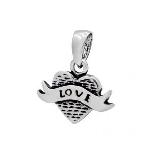 Wholesale Silver Heart Pendant