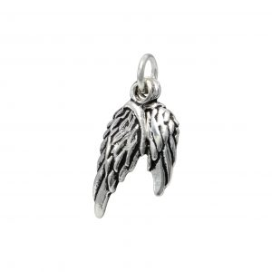 Wholesale Silver Double Wings Pendant