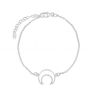Wholesale Silver Moon Bracelet