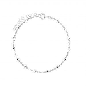 Wholesale 18cm Silver Satellite Bracelet