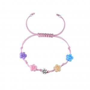 Wholesale Silver Flower Friendship Bracelet