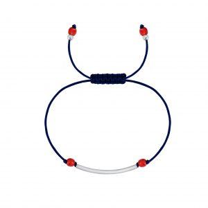 Wholesale Silver Tube Friendship Bracelet