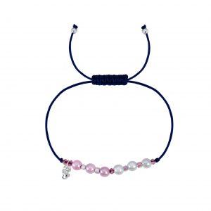 Wholesale Silver Flower Friendship Bracelet