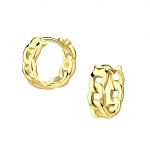 Wholesale Silver Intertwining Hoop Earrings