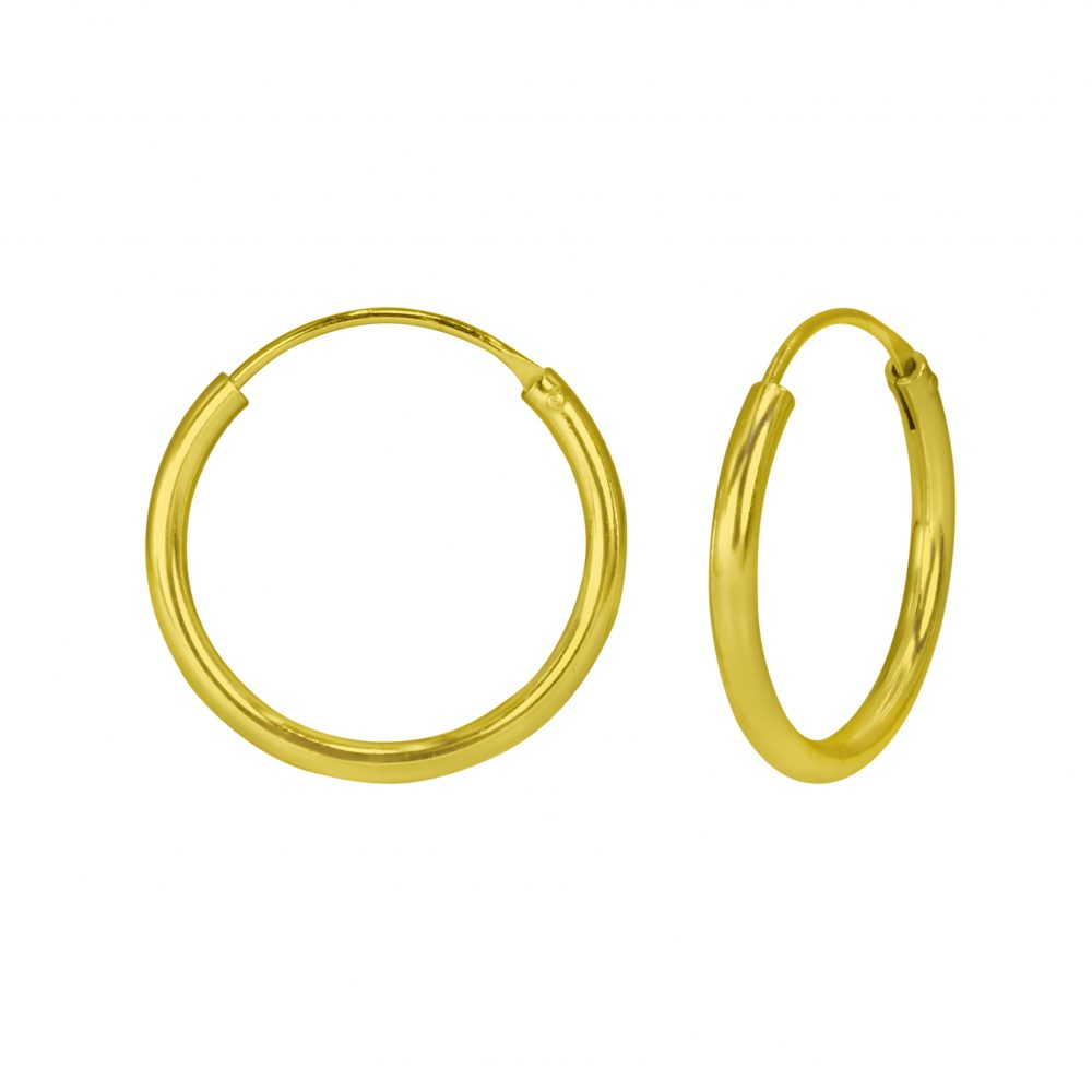Wholesale 20mm Silver Thick  Hoops