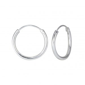 Wholesale 16mm Silver Hoop Earrings
