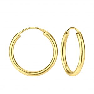 Wholesale 20mm Silver Thick Hoop Earrings
