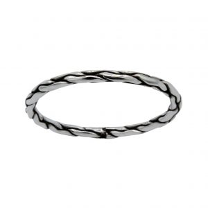 Wholesale Silver Snake Skin Ring