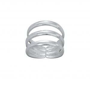 Wholesale Silver Stackable Adjustable Toe Ring