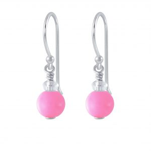 Wholesale Silver Handmade Bead Earrings