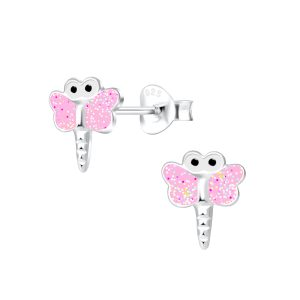 Wholesale Silver Dragonfly Stud Earring