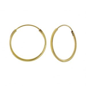 Wholesale 18mm Silver Hoop Earrings