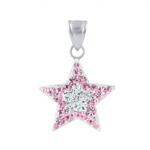 Wholesale Silver Star Pendant
