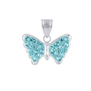 Wholesale Silver Butterfly Pendant