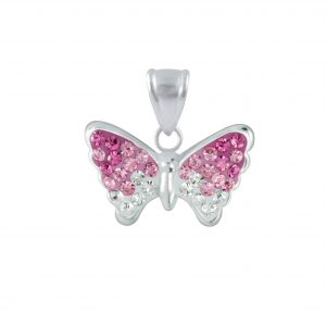 Wholesale Silver Butterfly Pendant