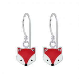 Wholesale Silver Fox Earrings