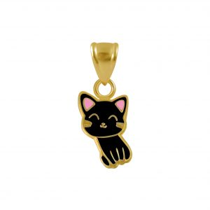 Wholesale Silver Cat Pendant