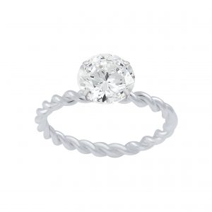 Wholesale Silver Solitaire Ring