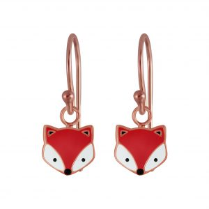 Wholesale Silver Fox Earrings