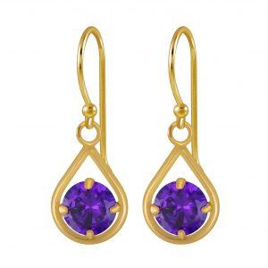 Wholesale Silver Tear Drop Dangle Earrings