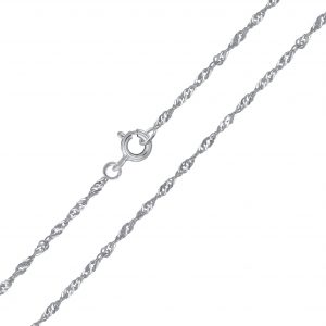 Wholesale 45cm Silver Singapore Chain