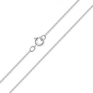 Wholesale 45cm Silver Curb Chain