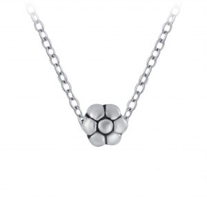 Wholesale Silver Flower Necklace