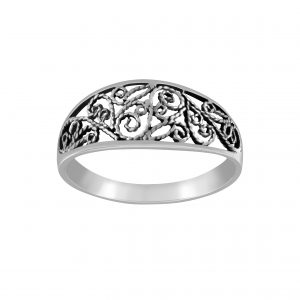 Wholesale Silver Stencil Ring