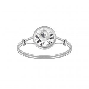 Wholesale Silver Handmade Solitaire Ring