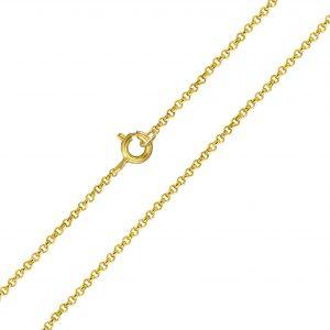 Wholesale 45cm Silver Rolo Chain