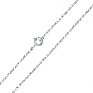 Wholesale 45cm Silver Rope Chain