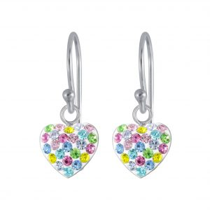 Wholesale Silver Heart Earring