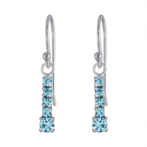 Wholesale Silver Bar Earrings