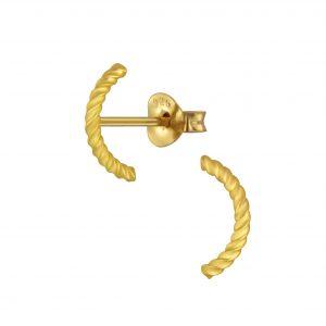 Wholesale Silver Wire Stud Earrings