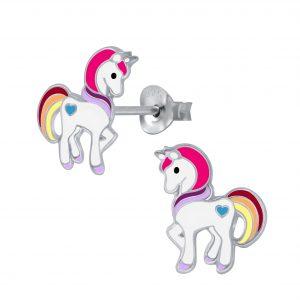 Wholesale Stud Unicorn Stud Earrings