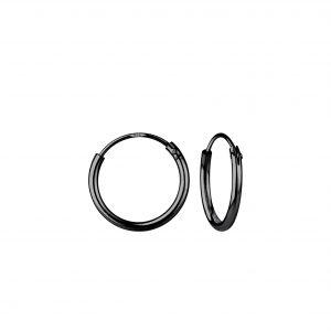 Wholesale 12mm Silver Hoop Earrings