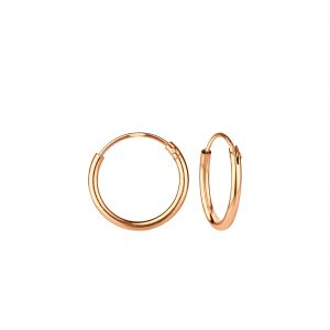 Wholesale 12mm Silver Hoop Earrings