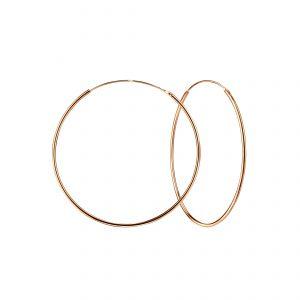 Wholesale 50mm Silver Hoop Earrings