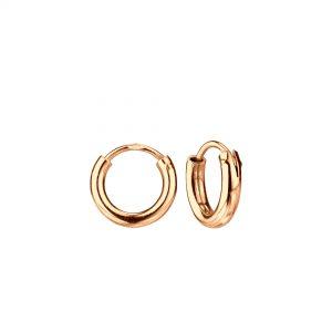 Wholesale 10mm Silver Thick Hoop Earrings