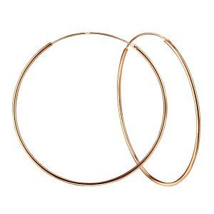 Wholesale 80mm Silver Thick Hoop Earrings
