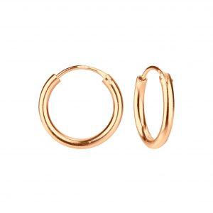 Wholesale 16mm Silver Thick Hoop Earrings