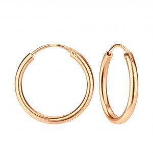 Wholesale 20mm Silver Thick Hoop Earrings