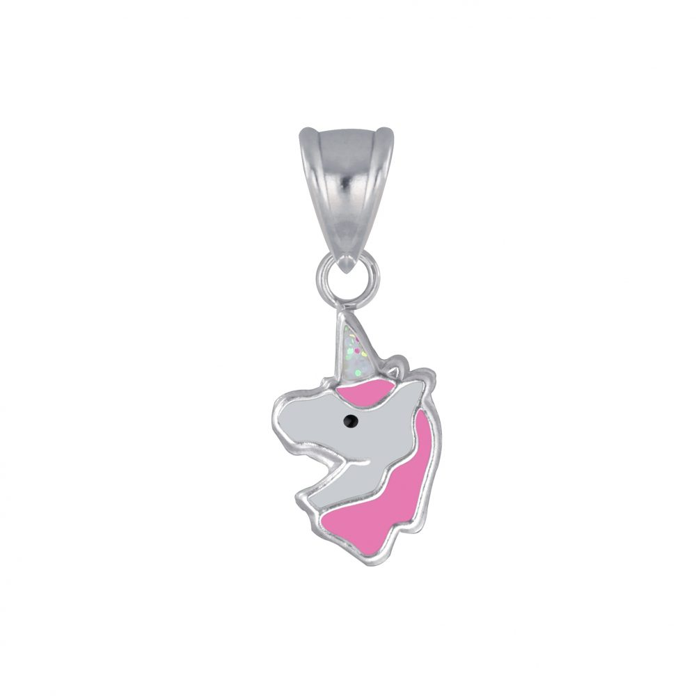 Wholesale Silver Unicorn Pendant