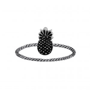 Wholesale Silver Pineapple Ring
