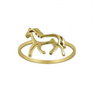 Wholesale Silver Horse Ring