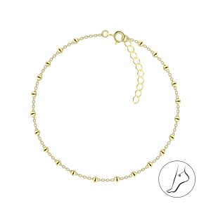 Wholesale 26cm Silver Satellite Anklet With Extension