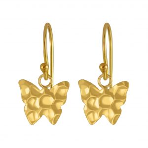 Wholesale Silver Butterfly Earrings